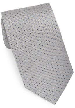 Eton Grey Dot Tie