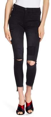 One Teaspoon Dark Fantasy Scallywags Skinny Jeans