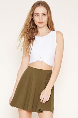 FOREVER 21+ Mini Skater Skirt $5.90 thestylecure.com