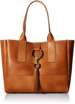 Frye Ilana Leather Wrapped Tote Bag Antique Veg Tan