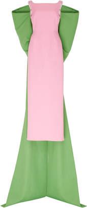 Emilia Wickstead Clea Column Crepe Gown