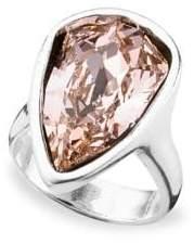 Uno de 50 Strut Swarovski Silver Ring