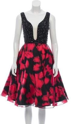 Jovani Embellished Sleeveless Dress
