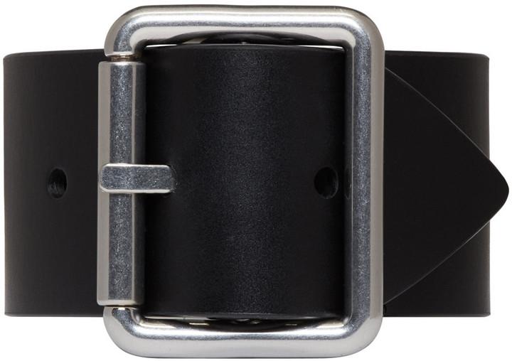 Raf SimonsRaf Simons Black Belt Bracelet