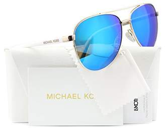 Michael Kors Hvar Sunglasses MK5007 Rose / Blue Mirror 1045/25