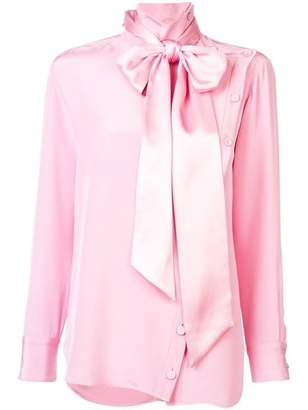 ADAM by Adam Lippes Detachable Scarf Blouse