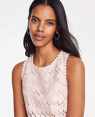 Ann Taylor Lace Halter Top