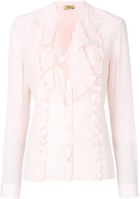 Liu Jo frill-trim blouse