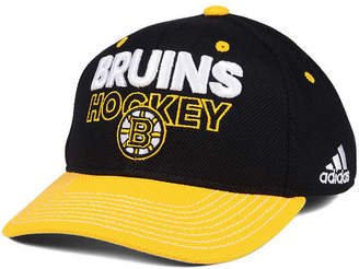 adidas Boston Bruins Locker Room Structured Flex Cap