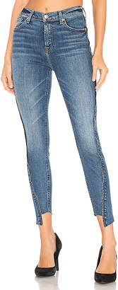 7 For All Mankind High Waist Ankle Skinny With Zippers.