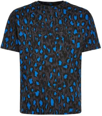 Kenzo Leopard Print Logo T-Shirt