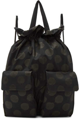 Y's Ys Navy Polka Dot Backpack