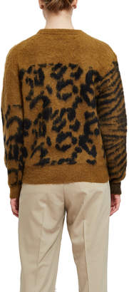 Toga Pulla Mohair Jacquard Pullover