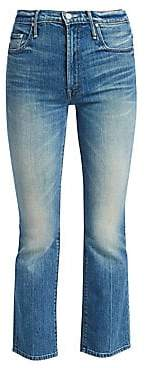 Mother Women's Insider Ankle Crop Bootcut Jeans