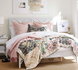 Pottery Barn Bari Floral Patchwork Quilt