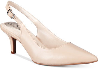 Alfani Women's Step 'N Flex Babbsy Pointed-Toe Slingback Pumps, Only at Macy's $69.50 thestylecure.com