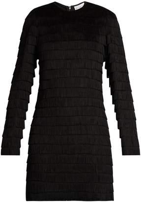 Raey Long-sleeved fringed dress