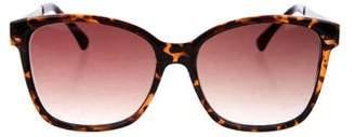 Oscar de la Renta Tortoiseshell Gradient Sunglasses