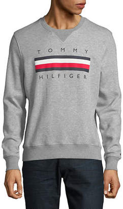 Tommy Hilfiger Global Logo Crew Sweater