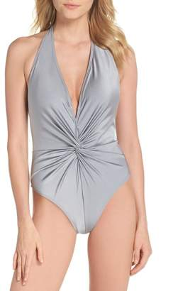 Ted Baker Low Knot One-Piece Swimsuit