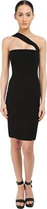 DSQUARED2 Women's Stretch Cady/Haimi One Shoulder Dress