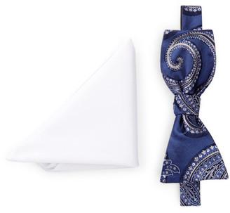BROLETTO Hendricks Paisley Bow Tie & Pocket Square Set $19.97 thestylecure.com