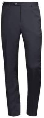 Corneliani Straight Wool Trousers