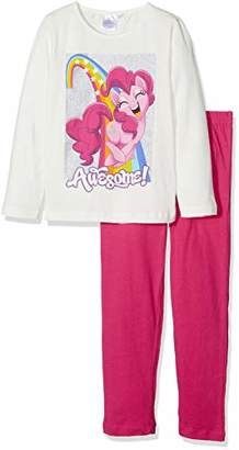 39c1f62dd05f Hasbro Girl's My Little Pony Long Sleeve Pyjama Sets,(Manufacturer ...