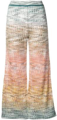 Missoni knitted crop trousers