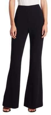 Brandon Maxwell Brandon Maxwell Women's Flare-Leg Pants - Black - Size 6