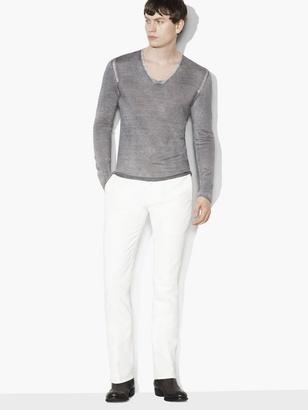 Silk Cashmere V-Neck $398 thestylecure.com