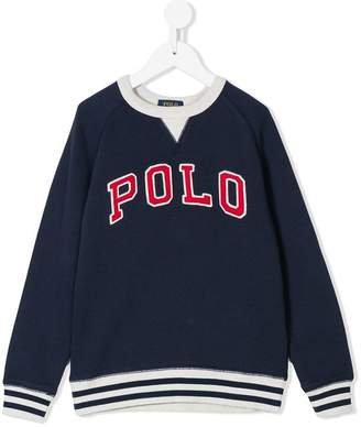 Ralph Lauren logo embroidered sweatshirt