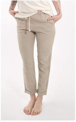Coast Crop Linen Pant