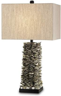 Currey and Company Villamare Table Lamp, Natural