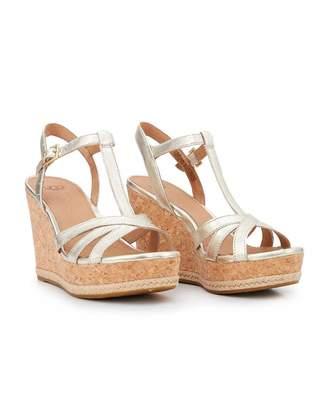 852850a4dcf UGG Cork Wedge Sandals For Women - ShopStyle Australia