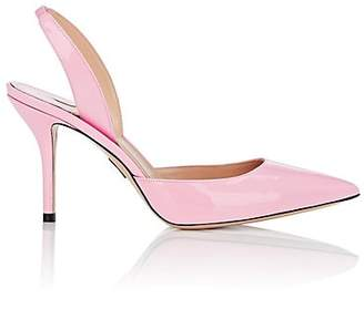 Paul Andrew Women's Patent Leather Slingback Pumps - Pink