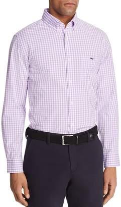 Vineyard Vines Carleton Gingham Tucker Classic Fit Sport Shirt