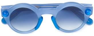 Christopher Kane Eyewear round-frame sunglasses