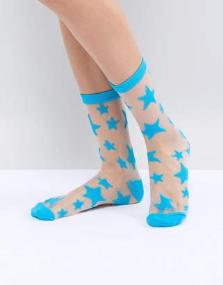 Gipsy Star Ankle Socks