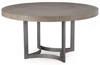 Paxton Round Dining Table - Oak - Maison 55