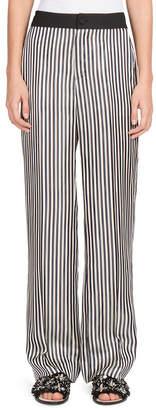 Lanvin Stripe Wide-Leg Pant