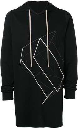 Rick Owens long hoodie
