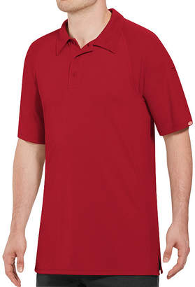 Red Kap Wrinkle Resistant Short Sleeve Solid Knit Polo Shirt Big