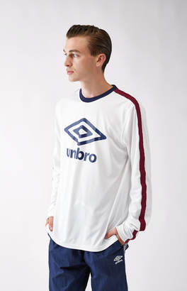 Umbro Big Logo Diamond Tape Long Sleeve T-Shirt