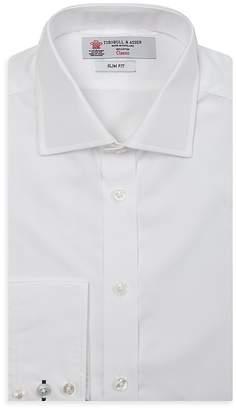 Turnbull & Asser Slim Fit Poplin Dress Shirt