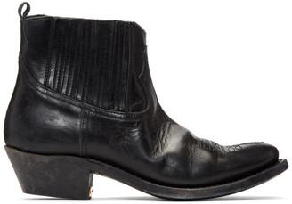 Golden Goose Black Crosby Boots
