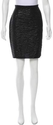 Dolce & Gabbana Metallic Knee-Length Skirt w/ Tags
