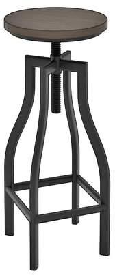 Trent Austin Design Denis Adjustable Height Swivel Bar Stool