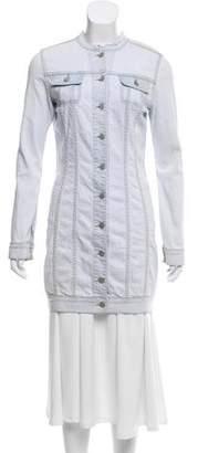 Christopher Kane x J Brand Longline Denim Jacket