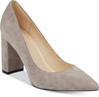 a7df56cd426 Marc Fisher Viviene Block-Heel Pumps Women Shoes